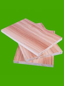 杉木芯生态板(浅胡桃)